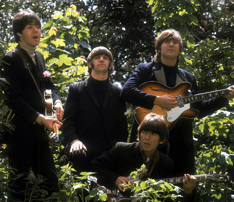 The Beatles, Chiswick Park Trees, London, 1966