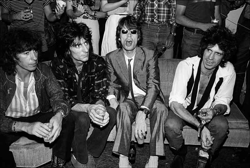 The Rolling Stones at Danceteria, NYC, 1980
