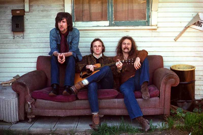 Crosby, Stills & Nash Album Cover, Los Angeles, 1969