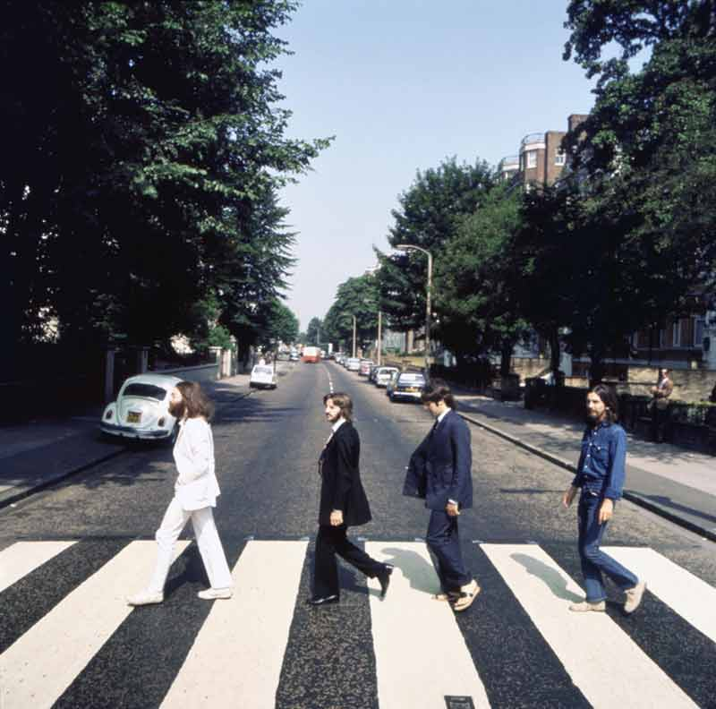 Abbey Road Album Cover Outtake (AB4), London, 1969