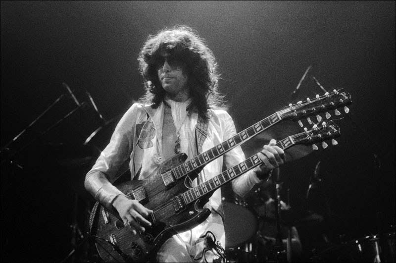 Jimmy Page, Madison Square Garden, NYC, 1977
