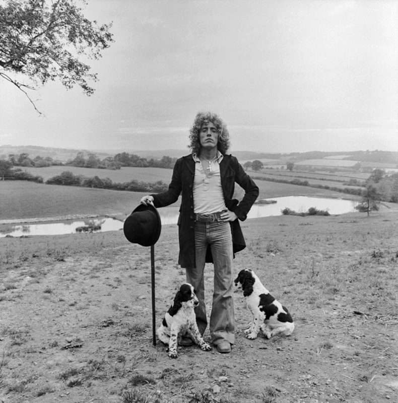 Roger Daltrey and His Dogs, Sussex, 1978