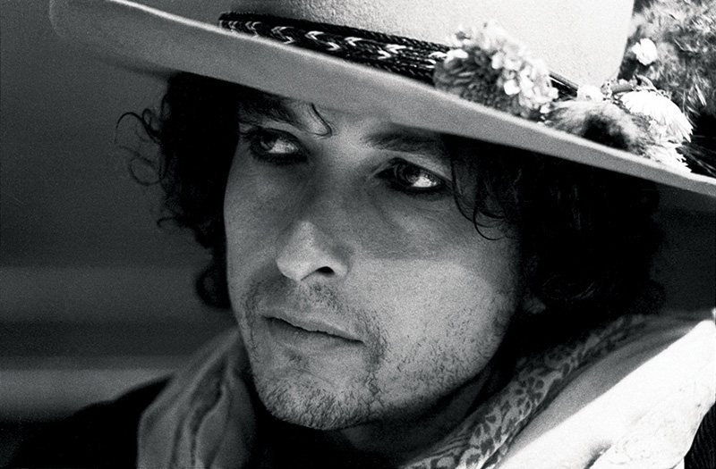 Bob Dylan Portrait in Hat, NH, 1975