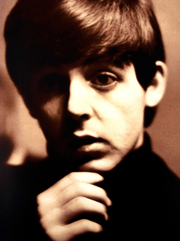 Paul McCartney Portrait, Sepia, Liverpool, 1963