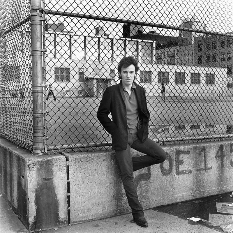 Bruce Springsteen, Hell's Kitchen Schoolyard, NYC, 1979