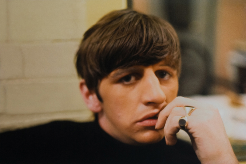 Ringo Starr Portrait, Backstage at the Cavern, Liverpool, 1963 (Close Up)