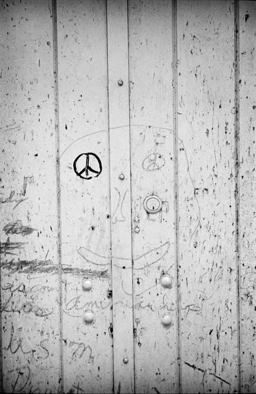 Peace Graffiti, New York, 1963
