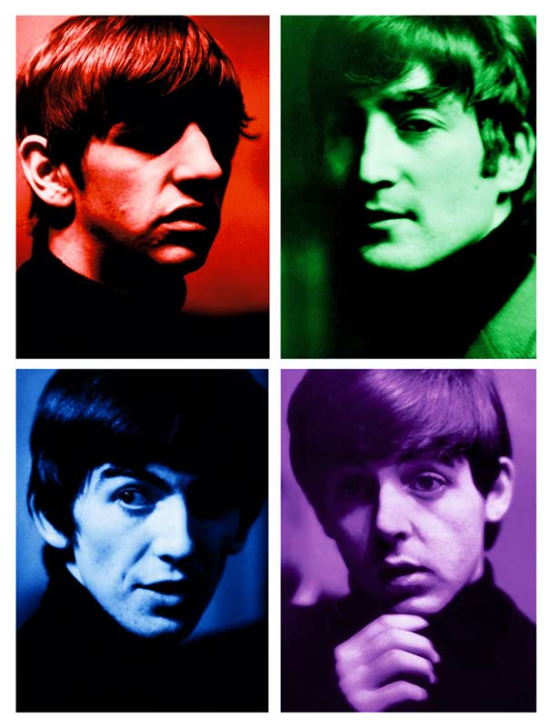 The Fab Four Color Quad, Liverpool, 1963