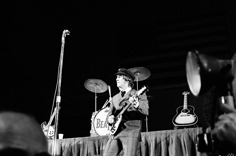 John Lennon Onstage, Cow Palace, San Francisco 1965