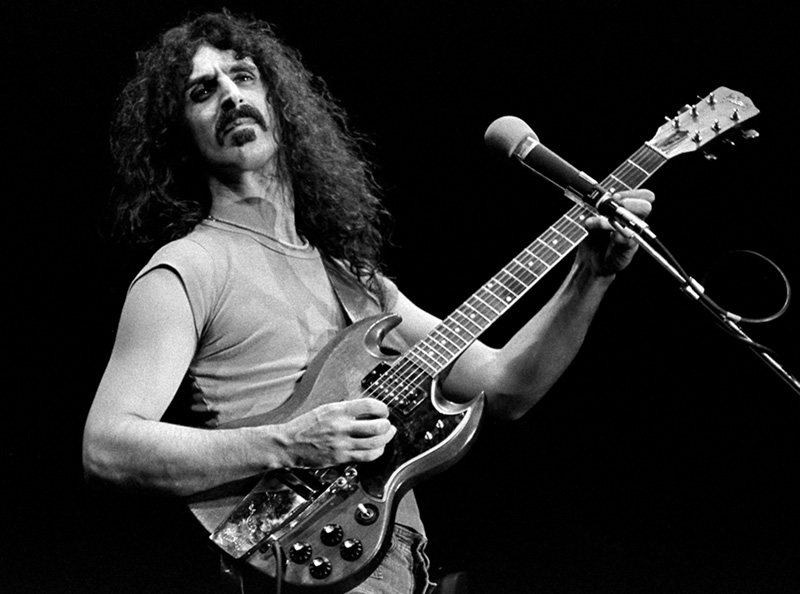 Frank Zappa Onstage, Boston Music Hall, 1975