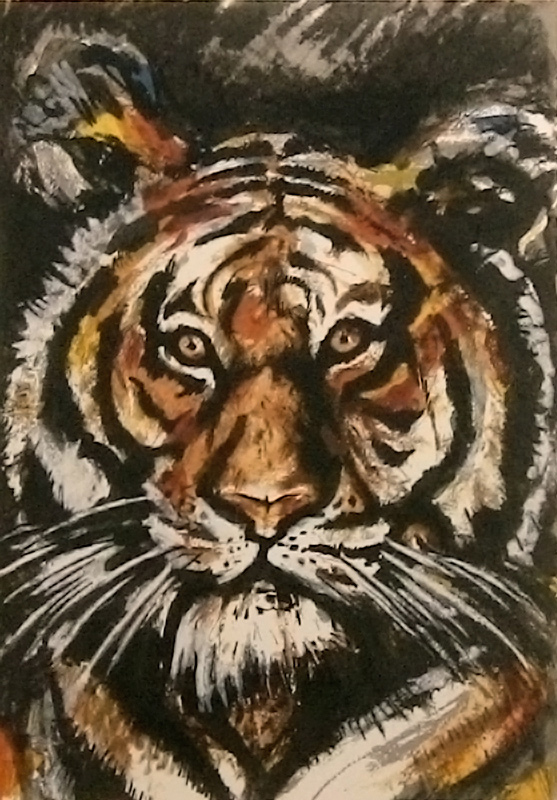 Endangered Species Suite -Tiger