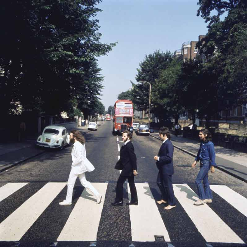 Abbey Road Album Cover Outtake (AB3), London, 1969
