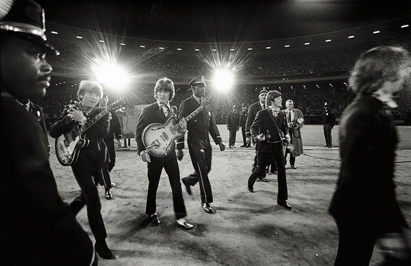The Beatles, Walking to Stage, Candlestick Park 1966