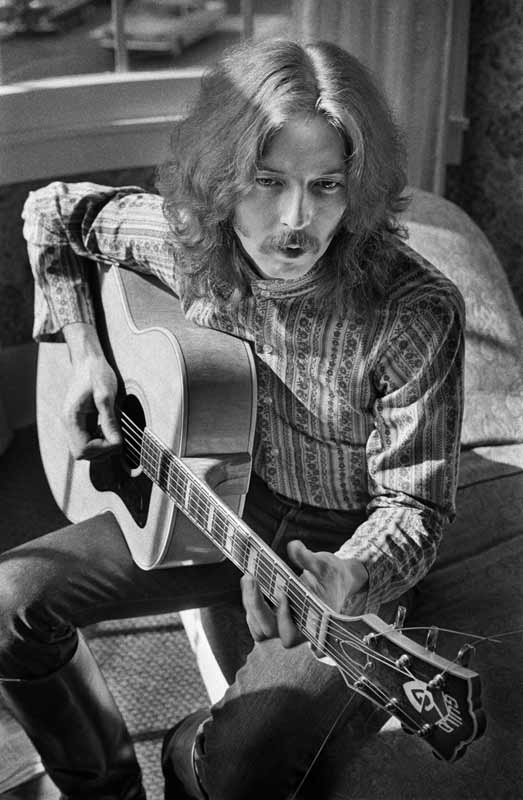 Eric Clapton at Jim Marshall's Apartment, San Francisco, 1967