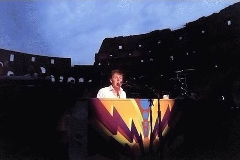 Each One Believing - Magic Piano in the Colosseum, Rome, 2003