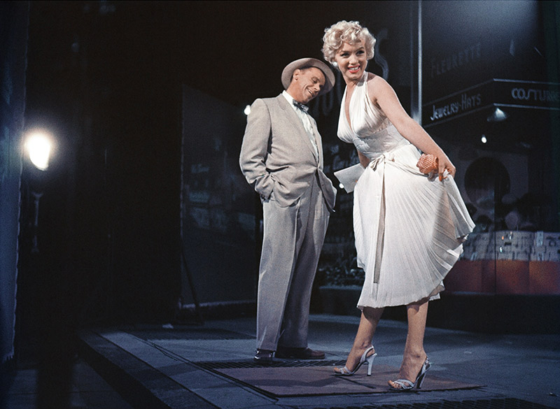 Marilyn Monroe and Tom Ewell, The Seven Year Itch, 1954