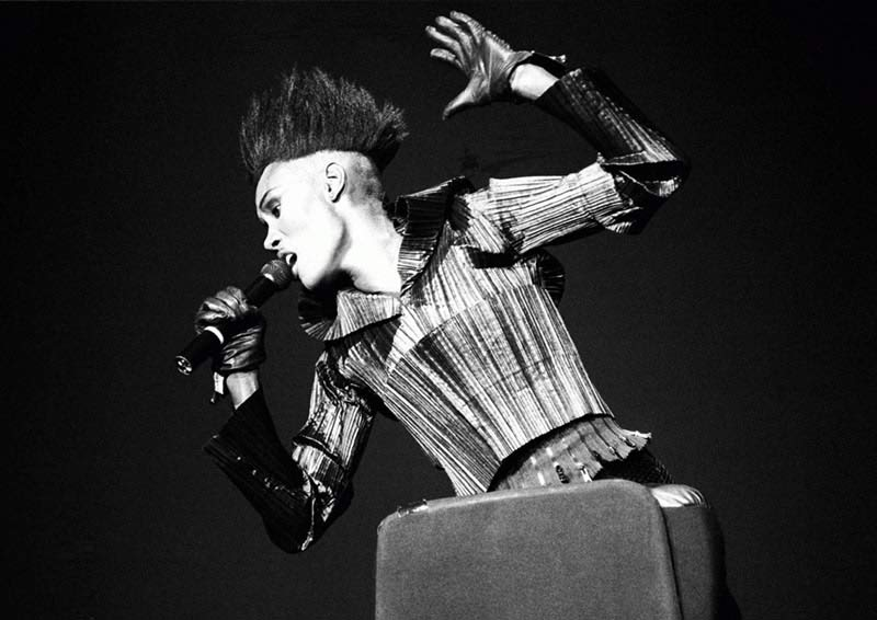 Grace Jones Performing, Brixton Academy, 1989