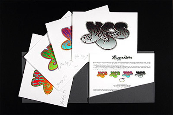 Yes 35th Anniversary Bubble Logo Portfolio, 2003