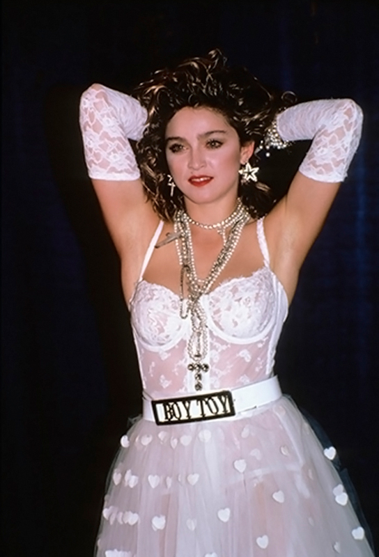 Madonna in Wedding Dress, MTV Video Music Awards, NYC, 1984