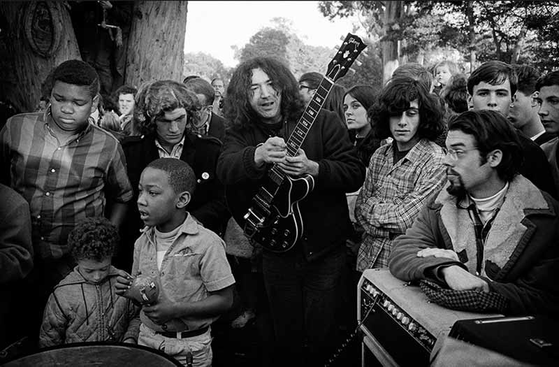Jerry Garcia & Freewheelin' Frank, The Panhandle, San Francisco, 1967