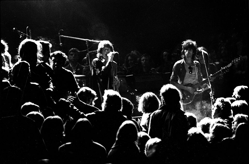 The Rolling Stones at Altamont, 1969