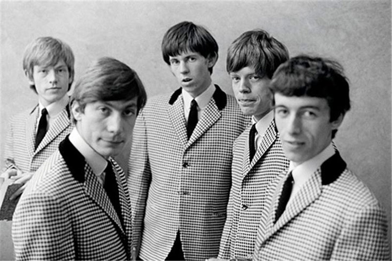 The Rolling Stones at ATV Studios (in Checked Jackets), 1963