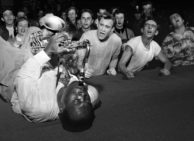 Big Jay McNeely, Los Angeles, 1951