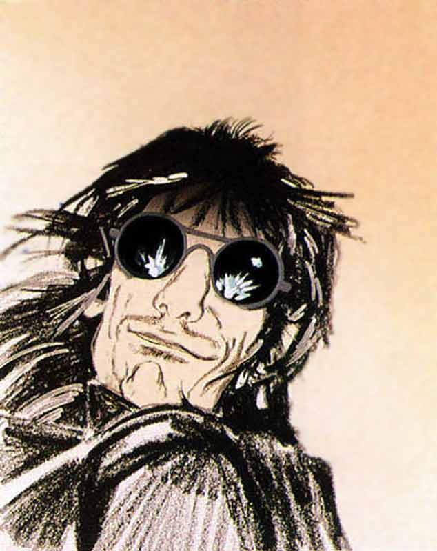 Ronnie Wood Self-Portrait II (Cream), 1991