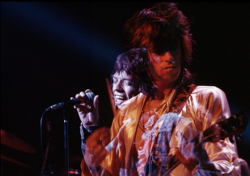 Keith Richards and Mick Jagger, Double Exposure