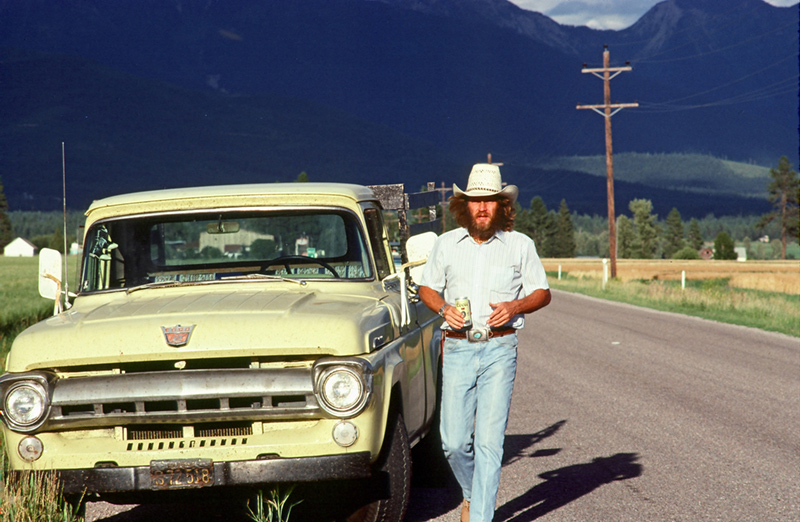 Steve McQueen, Road Less Traveled, Montana, 1978