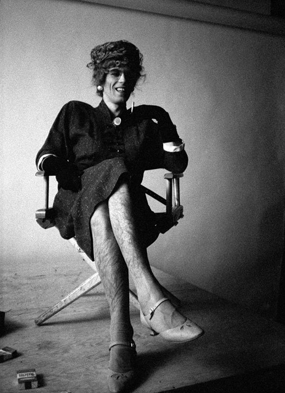 Keith Richards in Drag (Legs), New York, 1966