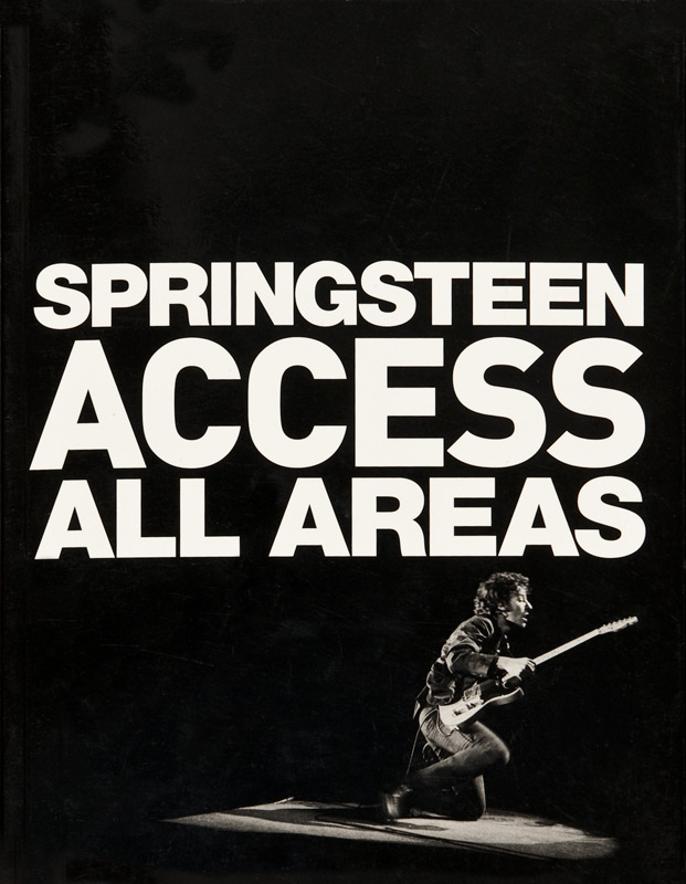 Springsteen Access All Areas (Book)