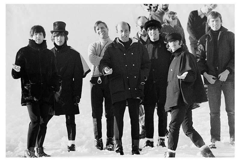 The Beatles, Richard Lester & Crew on the set of Help!, Austria, 1965 (Ref.#B20)