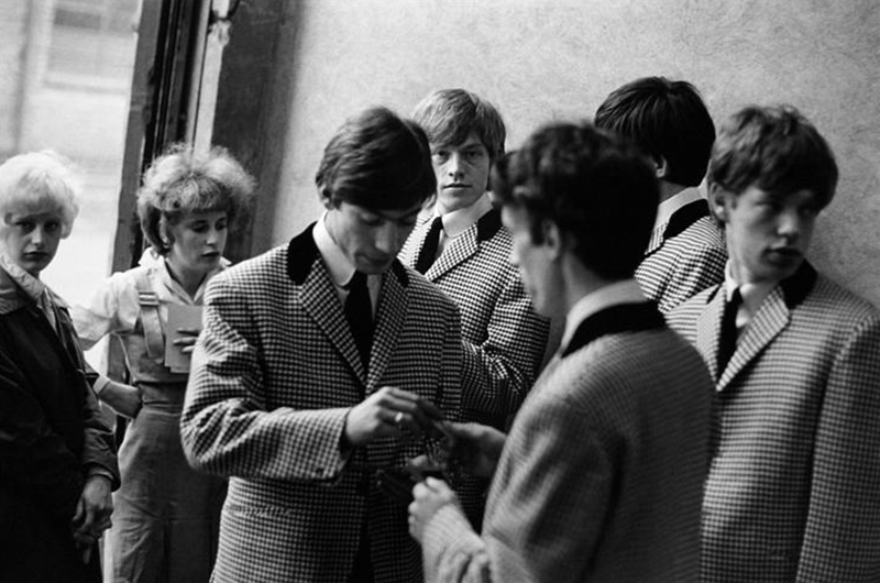 The Rolling Stones with Teddy Girls (in Checked Jackets), 1963