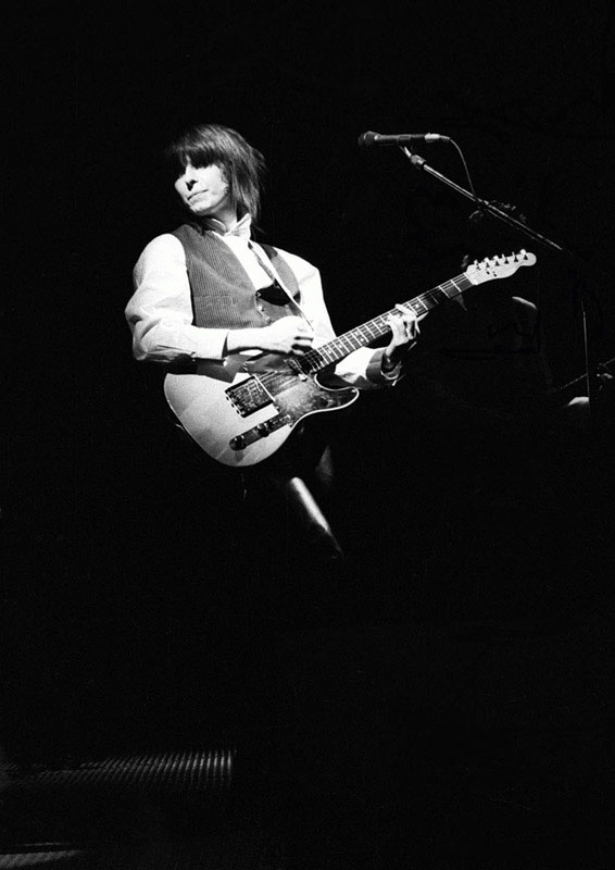 Chrissie Hynde of The Pretenders, Hammersmith Odeon, London, 1984