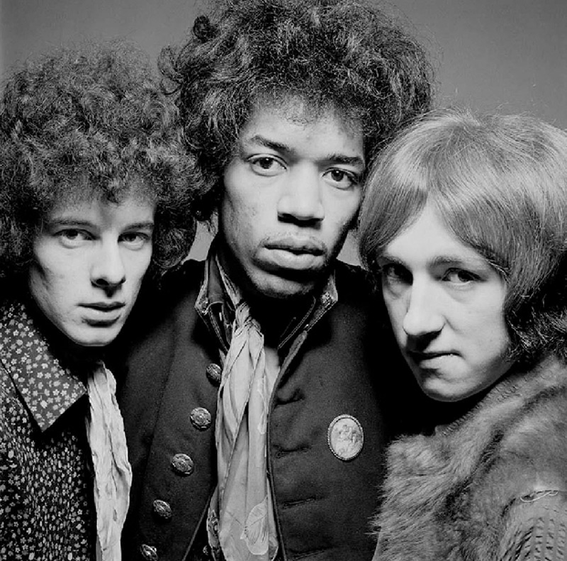 The Jimi Hendrix Experience (A-4), Mason's Yard, London, February, 1967