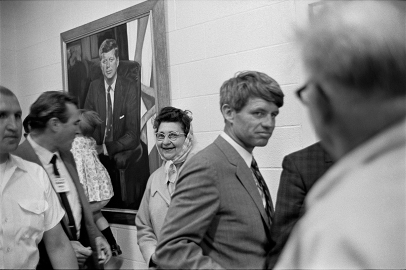 Robert Kennedy, Last Campaign, 1968 (Woman Smiling)