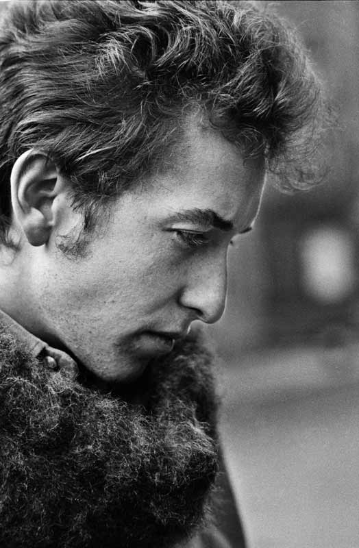 Bob Dylan Portrait, Greenwich Village, NYC, 1963