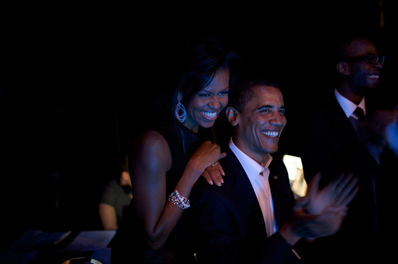 Barack & Michelle Obama, The First Couple To Be, NYC, 2008
