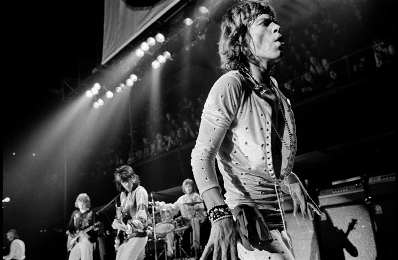 The Rolling Stones Onstage (Mick Dancing), 1972