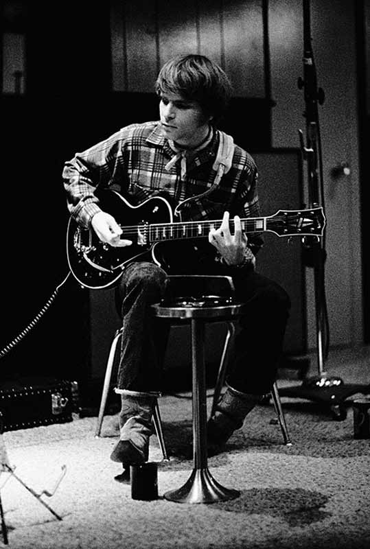 John Fogerty Recording Session, Wally Heider Studios, SF, CA, 1970