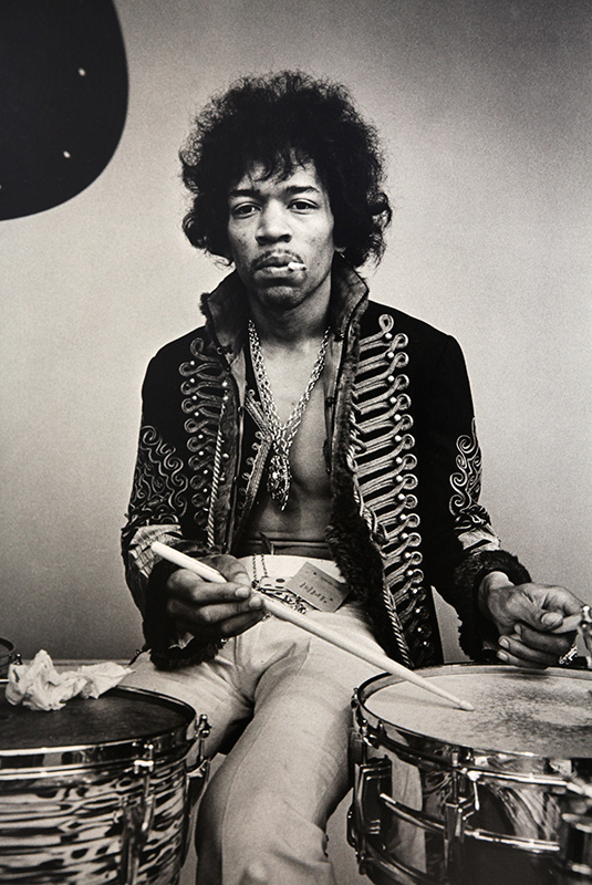 Jimi Hendrix on Drums, Monterey Pop Festival, 1967