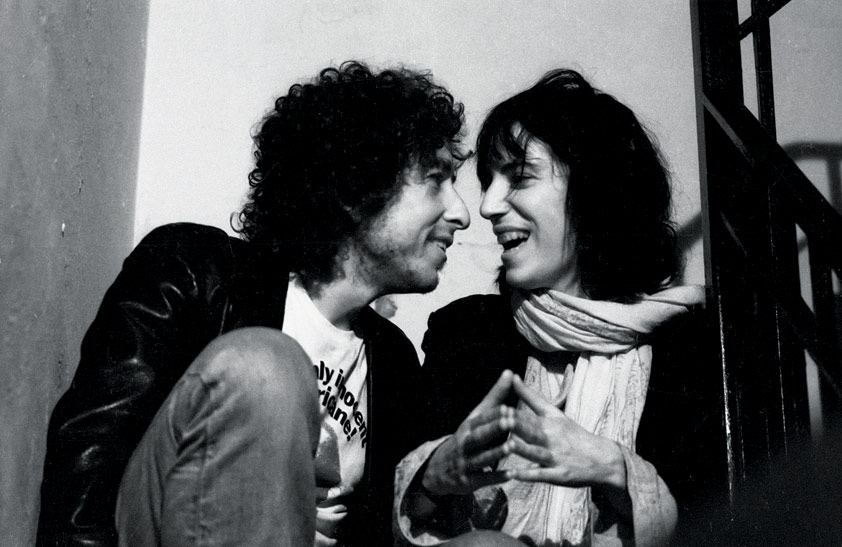 Bob Dylan & Patti Smith Laughing, NYC, 1975