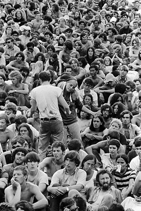 Dancing Couple, Woodstock Festival, 1969