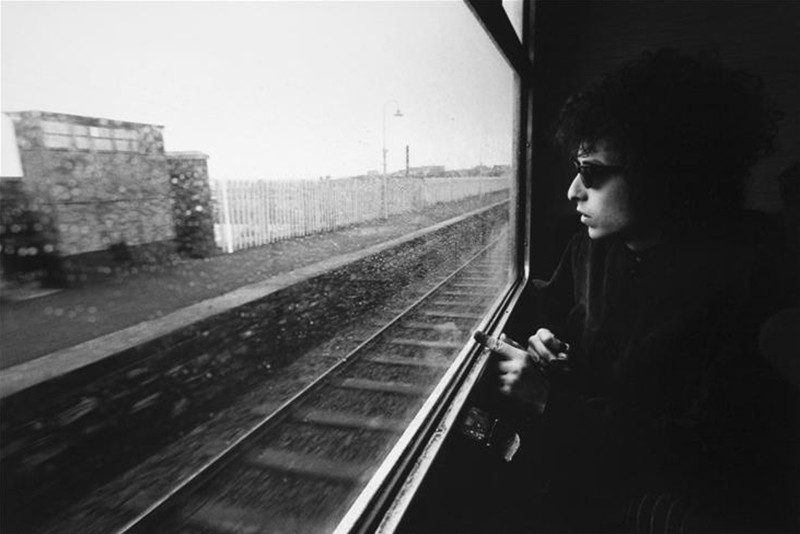 Bob Dylan, Train, Ireland, 1966