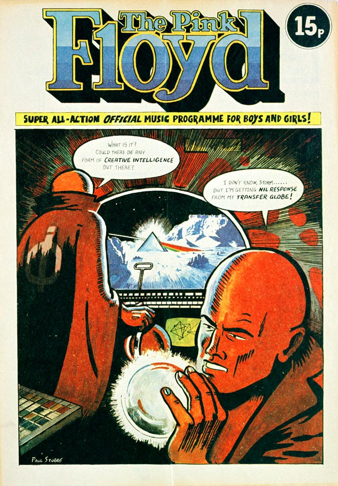 Pink Floyd, Concert Program - Comic Cover, 1974