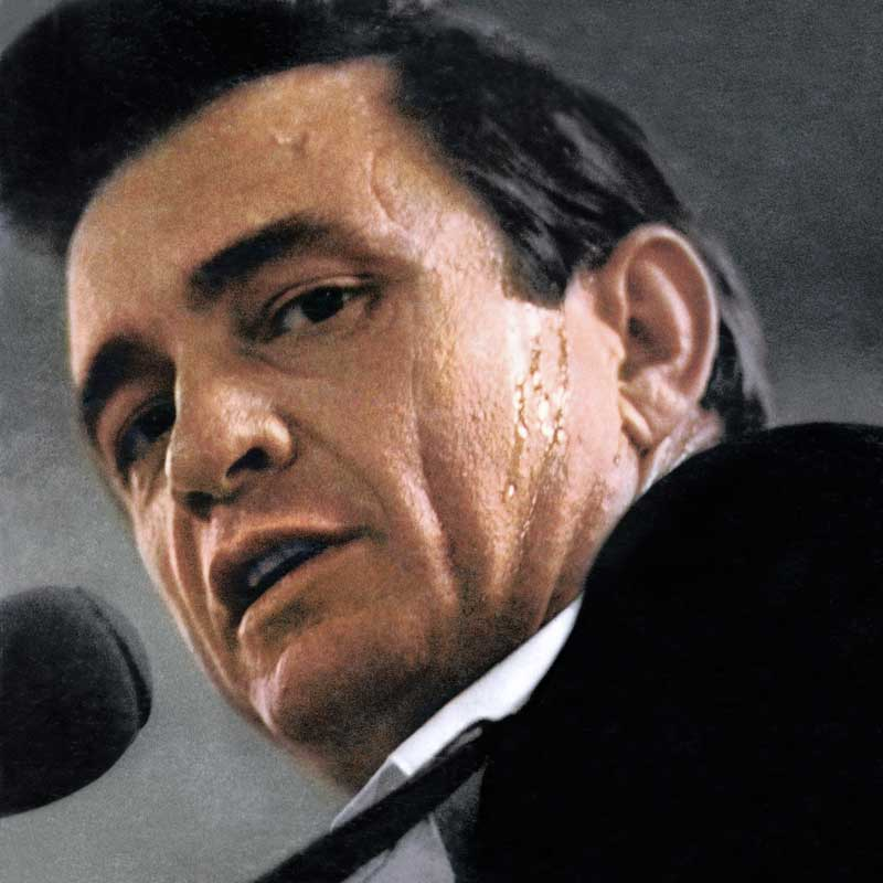 Johnny Cash, At Folsom Prison Album Cover, 1968