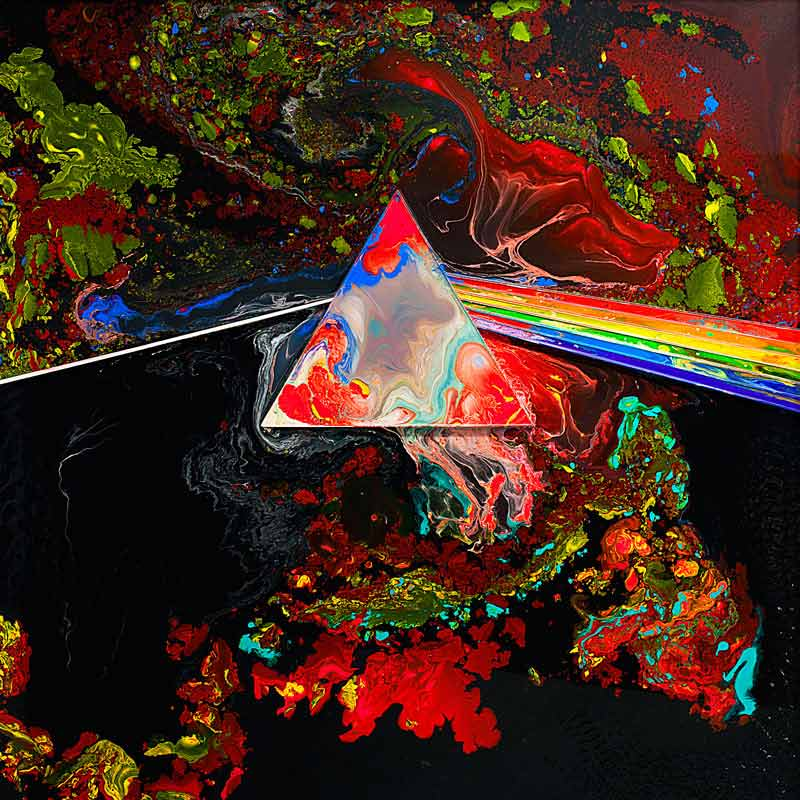 Liquid Dark Side Of The Moon - D, Fractals