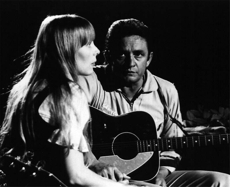 Joni Mitchell and Johnny Cash, The Johnny Cash Show, 1969