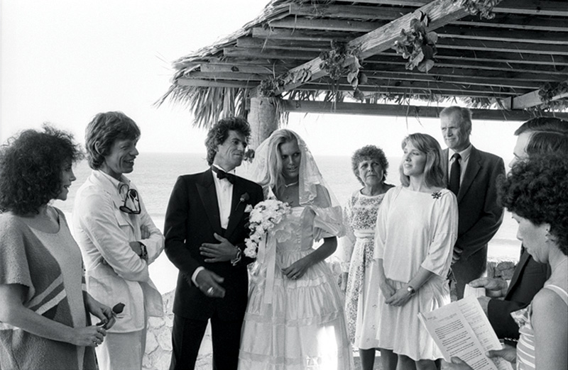 Keith Richards & Patti Hansen's Wedding, Baja, Mexico, 1983